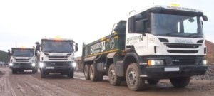 Silverton lorries using Adblue Diesel additives for lower emmissions - Target Fuels Essex UK
