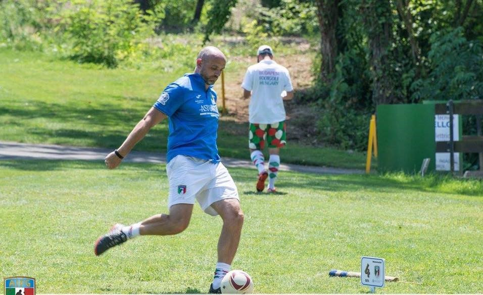 Dan Ferretti footgolf