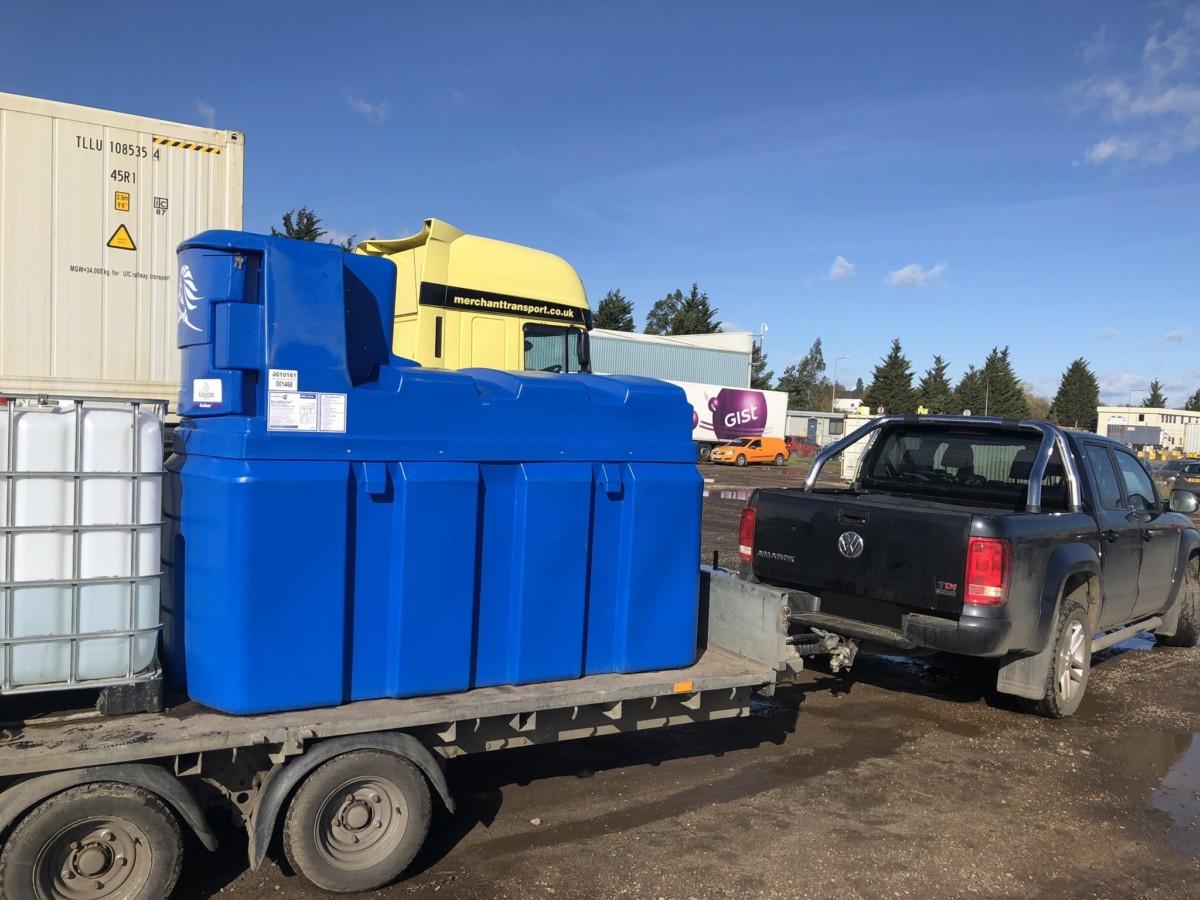 Target Fuels AdBlue diesel additives delivery to Essex UK