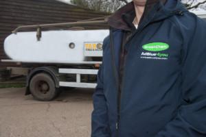 Target Fuels lorry - AdBlue from GreenChem Essex