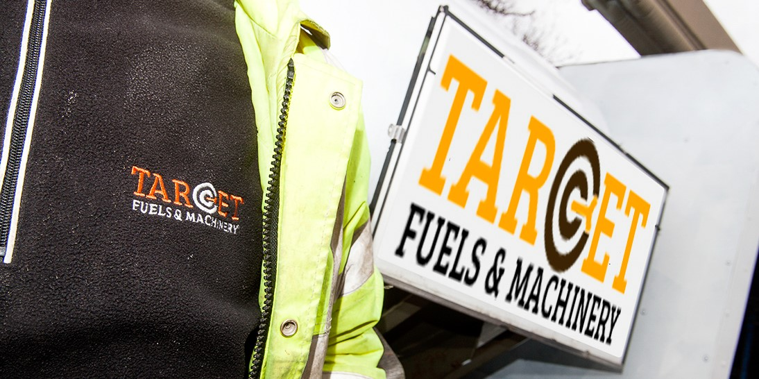 Target Fuels lorry and driver - suppliers of AdBlue diesel additives and engine oils to Hauliers, Essex, UK